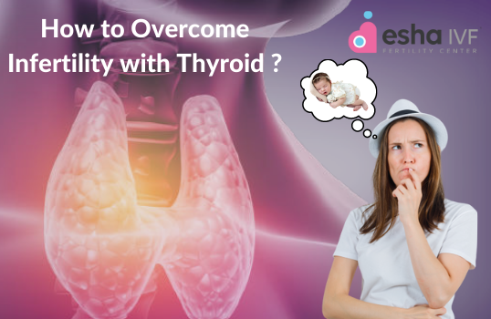 How to overcome infertility with thyroid.